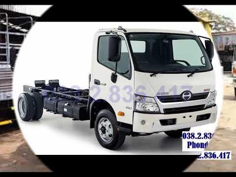 Xe tải hino 4 tấn thùng lửng - Hino 4T trả góp