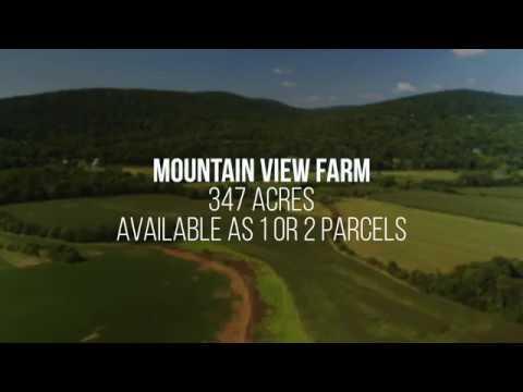 Mountain View Farm- Maryland 350 Acre Farmland Property