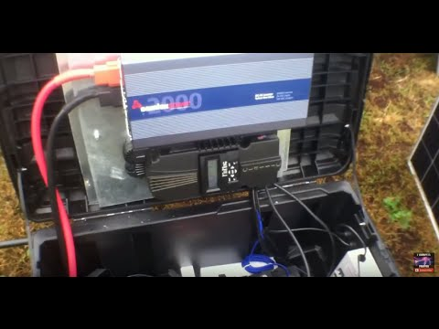 Custom Portable Solar Generators now available through OFF GRID CONTRACTING