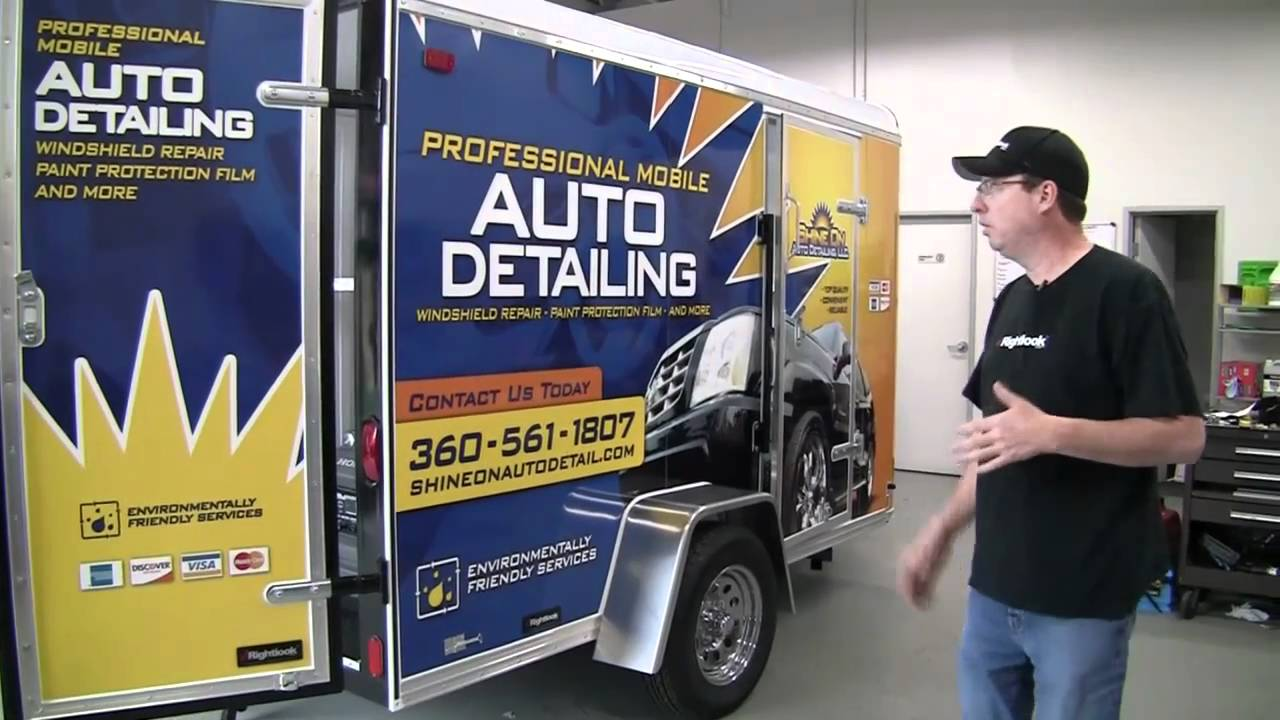 Car Detailing Supplies >> 9800 Mobile Auto Detailing Trailer with Steve - YouTube