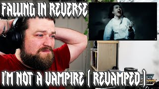 FALLING IN REVERSE | I'M NOT A VAMPIRE ( REVAMPED ) | REACTION by Vocal Coach Metal Vocalist