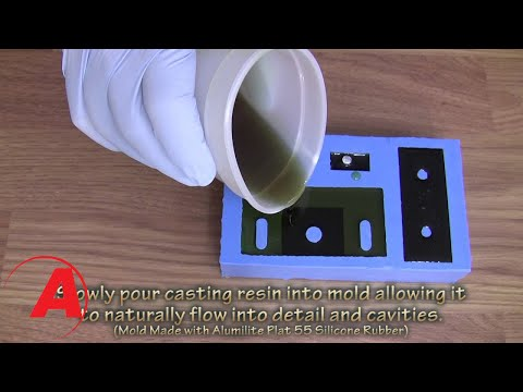 Alumilite Regular Casting Resin - YouTube
