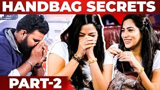 Actress Saipriya's Handbag Secrets Revealed By VJ Ashiq | What's Inside the Handbag?