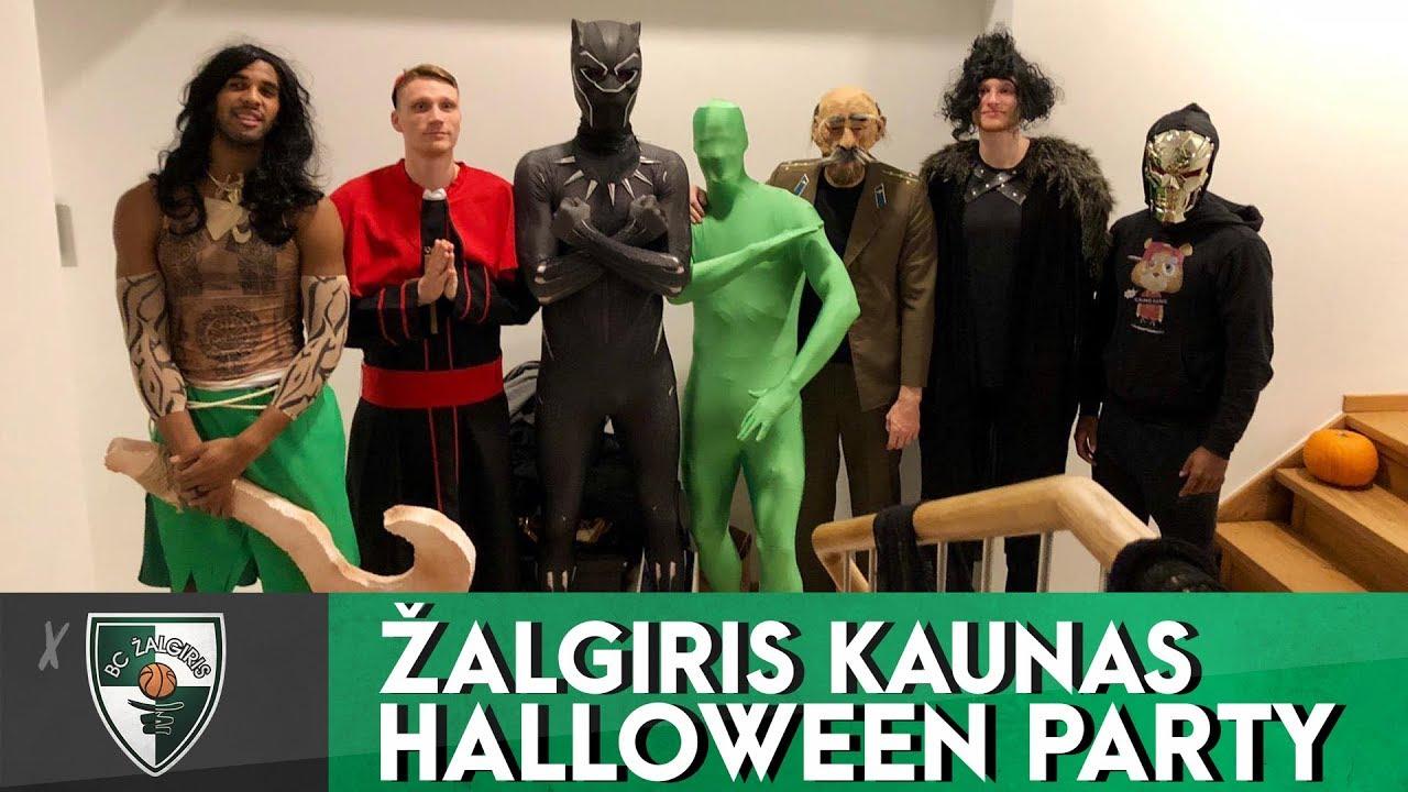 Halloween Feest.Walkup Talks About Zalgiris Halloween Party And Costumes