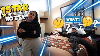 I TOOK KAY TO A 1 STAR HOTEL... why she mad tho?