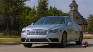2017 Lincoln Continental Test Drive