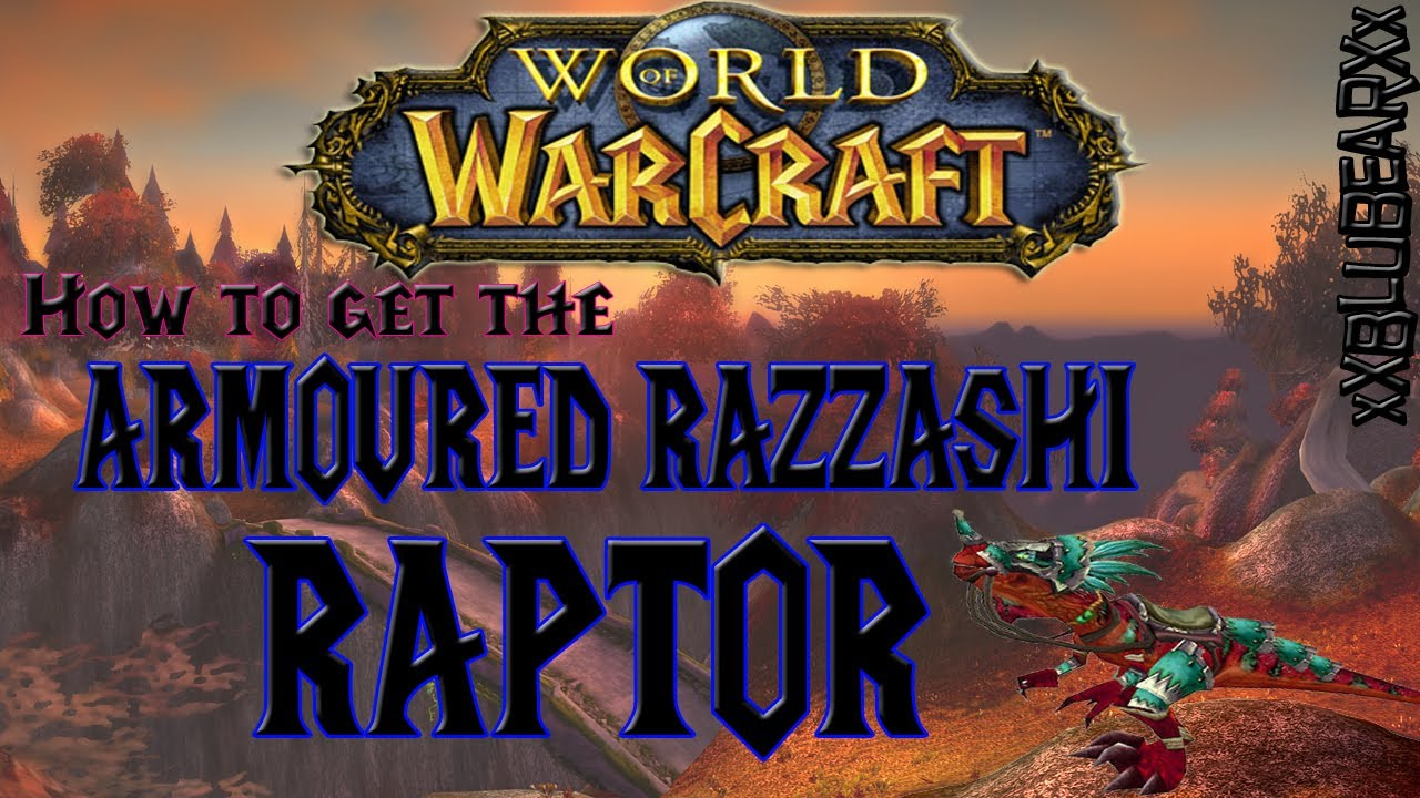 how to get swift razzashi raptor