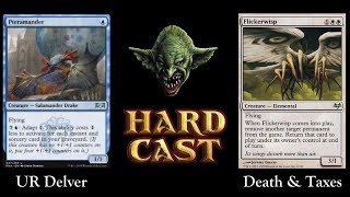 Legacy: UR Delver vs Death & Taxes (Live)