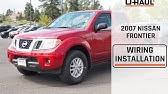 2007 Nissan Titan Trailer Wiring Installation Youtube