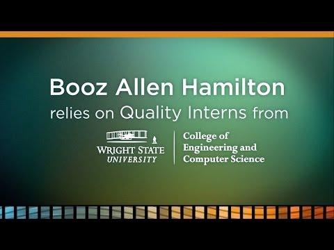 Booz Allen Hamilton: Building a workforce of Wright State interns and graduates
