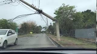 Chuva forte causa destruição em Brasília (DF)