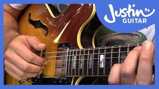 Basic Bossa Nova Guitar Pattern - Jazz Basics - Guitar Lesson [JA-009]