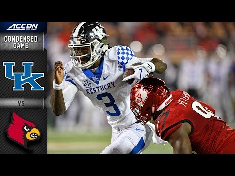 Kentucky Vs. Louisville  Condensed Game | 2018 ACC Football