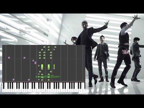 MBLAQ - Be A Man (Piano)