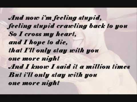 One more night - Maroon 5 lyrics paroles - YouTube
