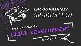 East LA College Child Development Associate Teacher Program Graduation