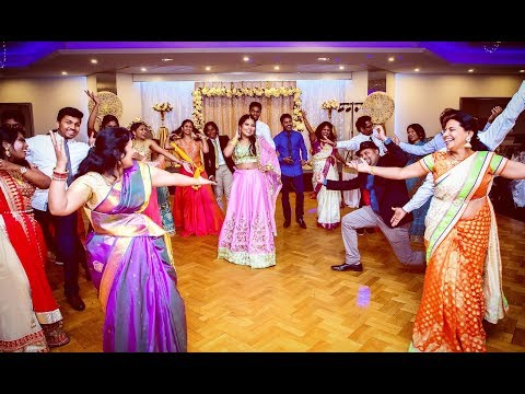 Tamil Family Dance   Jimmiki Kammal   Saampavi's 21st Birthday   Illusion Entertainments