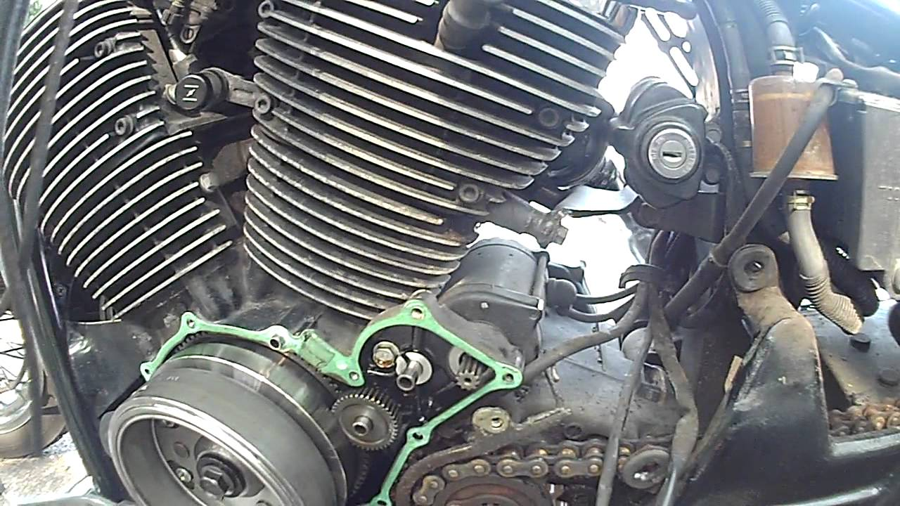 Changing The Stator On My Honda Shadow Ace750 Part 2