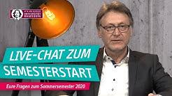 Live-Chat zum Semesterstart | 01.04.2020 | OVGU