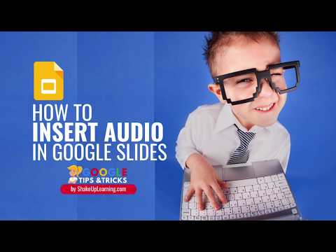 How To Insert Audio, Voice Narration, Or Background Music In Google Slides