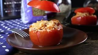 Как приготовить помидоры, фаршированные индейкой и чечевицей | Простой рецепт