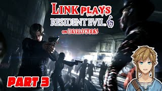 Link plays Resident Evil 6 - part 3 [CENSORED]
