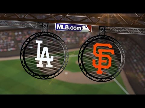 9/13/14: Dodgers erupt early to rout Giants, 17-0