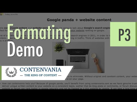 Paid content writing:: how to format a blog post