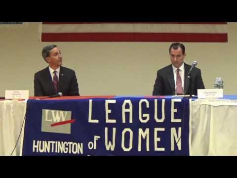 3rd CD Meet The Candidates: League of Women Voters of Huntington & Huntington Matters - Nov. 1, 2016