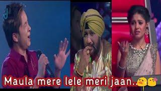 😧Judge को भी रुला दिया //इंडिया का best singer pawandeep rajan 😘