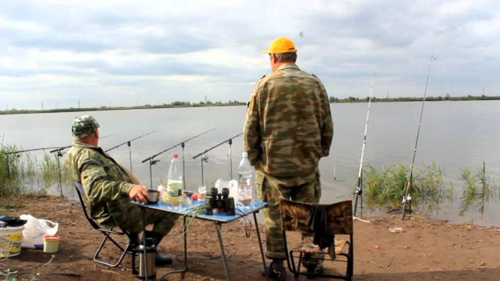 Рыбалка на михайловских прудах