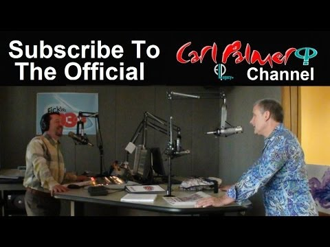Carl Palmer of Emerson, Lake and Palmer on Rochester's FICKLE 93 RADIO