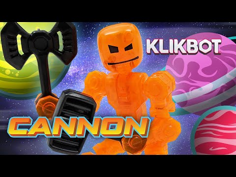 Klikbot | Cannon Vs 100 Stikbots! (Galaxy Defenders)