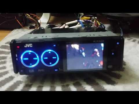 jvc kw-avx706 как подключить aux