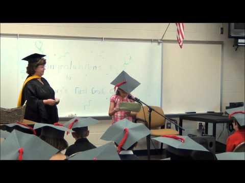 Rohrerstown Elementary School 1st Grade Graduation Part 1