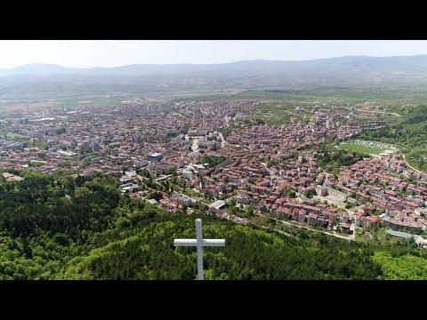 4k drone video - Blagoevgrad