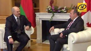Во время визита Александра Лукашенко в Тбилиси подписан внушительный пакет документов