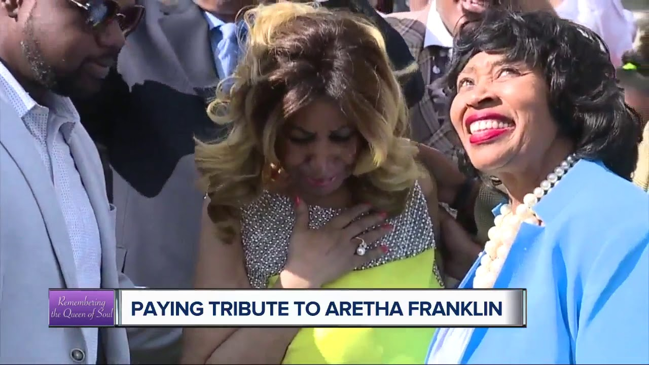 Detroit Pays tribute to their Lost Queen,  Aretha Franklin