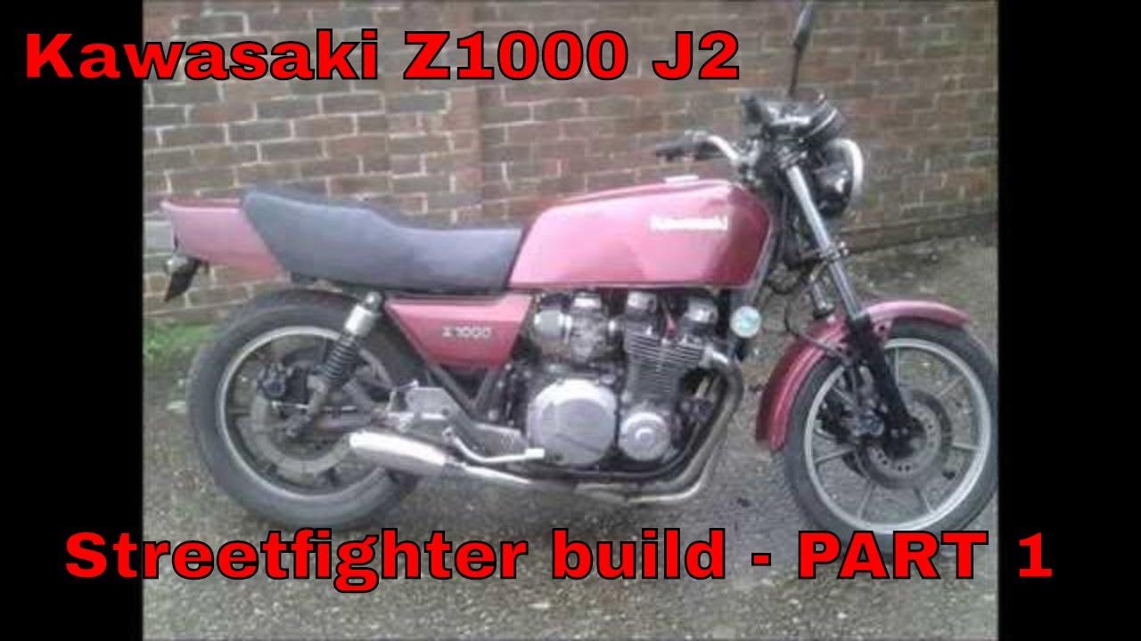 Kawasaki Z1000 J2
