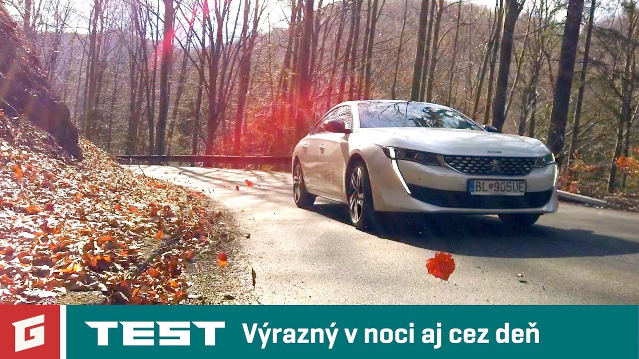 PEUGEOT 508 2,0 BlueHDi 180 AT - TEST - GARAZ.TV - Rasťo Chvála - YouTube