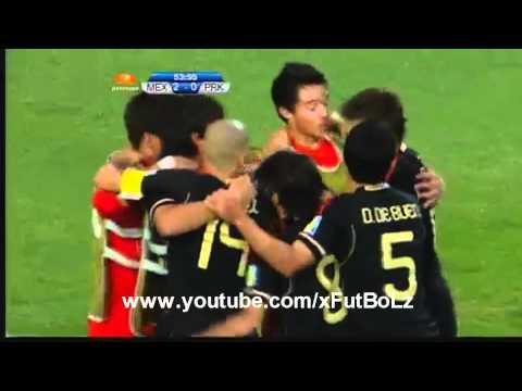 """Mundial Sub 20 : México Vs Corea del Norte - (3-0) - 1/08/2011 """"Todos Los Goles"""""""