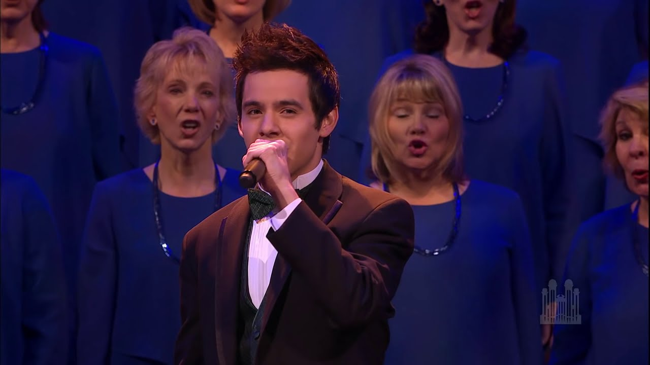 Joy to the World - David Archuleta and the Mormon Tabernacle Choir ...