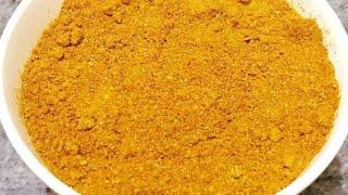 How To Make Sambhar Masala   Home Made Sambhar Powder Recipe