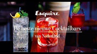 Dit zijn de beste nieuwe cocktailbars van Nederland
