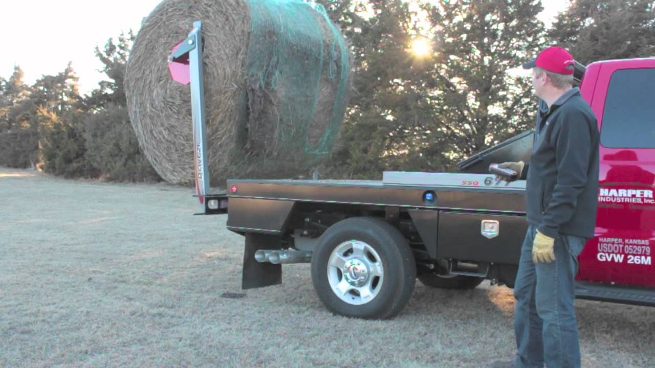 Deweze 600 700 series bale bed youtube for Beds 4 u ottery