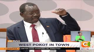 Governor Lonyangapuo: There is no cattle rustling in West Pokot | JKLIVE
