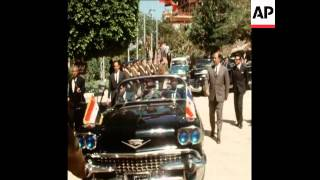 SYND 24-2-70  PRESIDENT TITO OF YUGOSLAVIA ARRIVES IN CAIRO