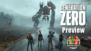 Generation Zero Preview - Closed Beta