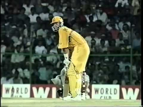 Mark Waugh 110 vs New Zealand WORLD CUP 1996