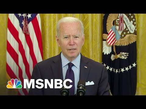 Biden Argues Dismal Jobs Report Shows Need For More Investment   The Last Word   MSNBC